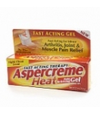 Aspercreme Heat Pain Relieving Gel 2.5 oz