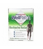 WellPatch Deep Heating For Muscle Pain Backache Relief Xtra Large Pads 4ct