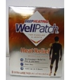 Well Patch Deep Heating for Muscles & Joints Heat Relief Warming Pads X-Large 2ct