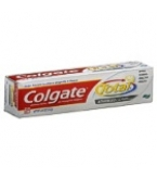 Colgate Total Anticavity & Antigin Toothpaste Adv Clean Plus White Gel 4oz
