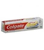 Colgate Total Anticavity & Antigin Toothpaste Adv Clean Plus White Gel 4oz