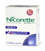 Nicorette Gum 2mg Regular 170/Box