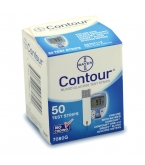 Bayer Contour Diabetic Test Strips - 50 Strips
