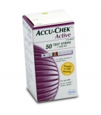 Accu-Chek Active Diabetic Test Strips - 50 Strips