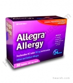 Allegra Allergy 24-Hour - 30 Tablets
