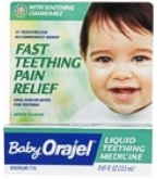 Baby Orajel Liq Teething Medicine w/ Soothing Chamomile Berry Flav .45 oz****OTC DISCONTINUED 3/5/14
