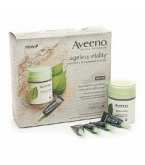 Aveeno Active Naturals Ageless Vitality Elasticity Recharging System Night Kit****OTC DISCONTINUED 3/5/14