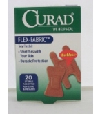 Curad Flex-Fabric Sterile Assorted Adhesive Bandages 20 ct