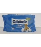 Cottonelle Fresh Flushable Moist Wipes Pop-Up Refill 42ct
