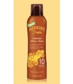 Hawaiian Tropic Tanning Crème Lotion SPF 10 6 Ounces