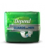 Depend Guards for Men Regular Absorbency One Size Fits All 96/Case