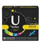 U By Kotex Click Tampons Regular - 18