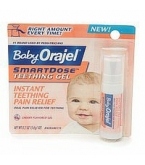 Baby Orajel SmartDose Teething Gel Cherry Flavored .22 Ounces