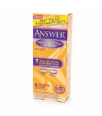 Answer Pregnancy Test Lab Strips 5ct
