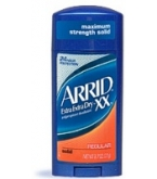 Arrid XX Extra Extra Dry Anti-Perspirant/Deodorant Regular Solid 2 Ounces