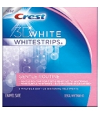 Crest 3D White Whitestrips Gentle Routine Enamel Safe 28 Pouches