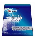 Crest 3D White Whitestrips with Advanced Seal Professional Effects Enamel Safe 20ct