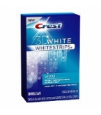 Crest 3D White Whitestrips Vivid Enamel Safe 10 Pouches*****SUPPLIER DISCONTINUED 2/20/14
