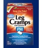 Hylands Leg Cramps with Quinine PM Nightime Cramp Relief Tablets 50ct