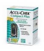 Accu-Chek Compact Plus Blood Glucose Monitoring Kit****OTC DISCONTINUED 2/28/14