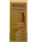 Aveeno Active Naturals Positively Radiant Tinted Moisturizer Medium Sheer Tint 2.5oz