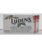 Ludens Cool Menthol Throat Drops 20- 14 Count Boxes*********SUPPLIER DISCONTINUED 6/2/14*********