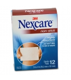 Nexcare Non-Stick Pads 3 Inches X 4 Inches - 12***otc Discontinued  2/25/14