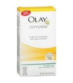 Olay Complete All Day UV Moisturizer with Vitamins E& B3 SPF 15 Sensitive Lotion 6 Ounce