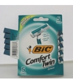 Bic Comfort Twin Shavers Sensitive Skin For Men - 5***otc Discontinued  2/25/14