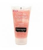 Neutrogena Oil-Free Acne Wash Pink Grapefruit Foaming Scrub 4.2 oz