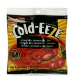 Cold-Eeze Cold Remedy Lozenges Natural Cherry Flav Bag 18ct