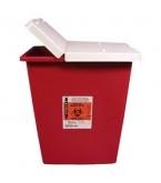 Sharps Container 8 Gallon Red
