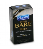 Durex Avanti Bare Latex Condoms - Box of 12