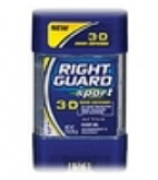 Right Guard Sport Odor Defense Active Invisible Solid Anti-Perspirant/Deodorant 1.8oz