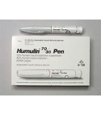Humulin 70/30 Insulin 100 U/mL, 3ml Disposable Pen - Box of 5 Pens***MFG Discontinued 4/2/14
