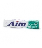 Aim Anticavity Fluoride Whitening Mint Gel Baking Soda Toothpaste 6 oz