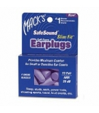 Macks Safe Sound Slim Fit Soft Foam Earplugs 10 Pairs