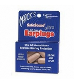 Macks Safe Sound Ultra Soft Foam Earplugs 10 Pairs