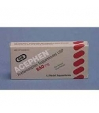 Acetaminophen  650mg Suppository 12ct