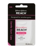 Johnson & Johnson Reach Gentle Gumcare w/Fluoride (Mint) - 50 Yards