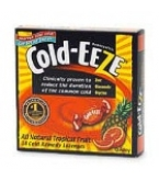 Cold-Eeze Cold Remedy Lozenges Natural Tropical Fruit Flav Box 18ct
