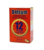 Delsym Cough Suppressant 12 Hour Cough Relief Orange Flavored 3 Ounces