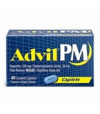 Advil PM Caplet 40ct****OTC DISCONTINUED 3/3/14