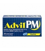 Advil PM Caplet 80ct****OTC DISCONTINUED 3/3/14
