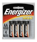 Eveready Battery Energizer AA  4/Pk