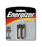 Eveready Battery Energizer AAA   2/Pk