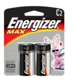 Eveready Battery Energizer C  2/Pk