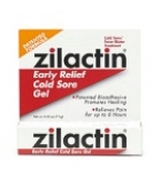 Zilactin Early Relief Cold Sore Gel .25 oz