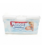 Huggies Sensitive Fragrance Free Wipes 64ct