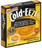 Cold-Eeze Cold Remedy Lozenges All Natural Honey Lemon Box - 18